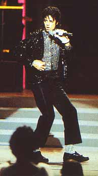 Mike puttin' it down at Motown 25